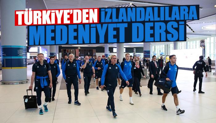 Türkiye İzlandalılara medeniyet dersi verdi