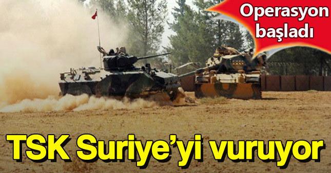 Türkiye Suriye'ye hava operasyonu başlattı