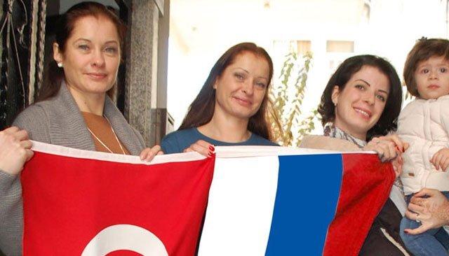 Türkiye'de yerleşik yaşayan Rus sayısı kaç?