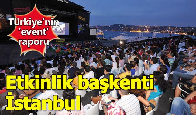 Türkiye'nin 'etkinlik başkenti' İstanbul