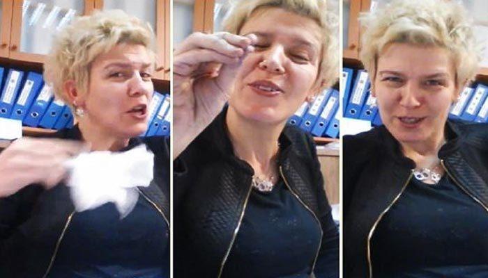 Türkü eşliğinde mühür basan katip hakkında karar verildi