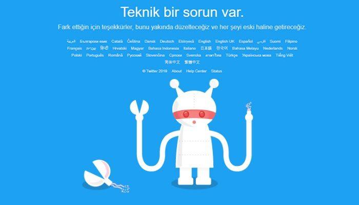 Twitter çöktü mü | Twitter neden açılmıyor çalışmıyor | Twitter ne zaman düzelir | Twitter'da sorun mu var?