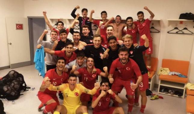 U19 Milli Takımı'ndan önemli galibiyet!