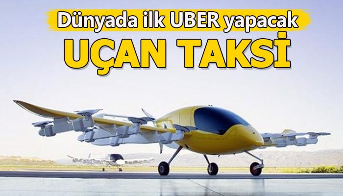 UBER'den 'uçan taksi' hizmeti