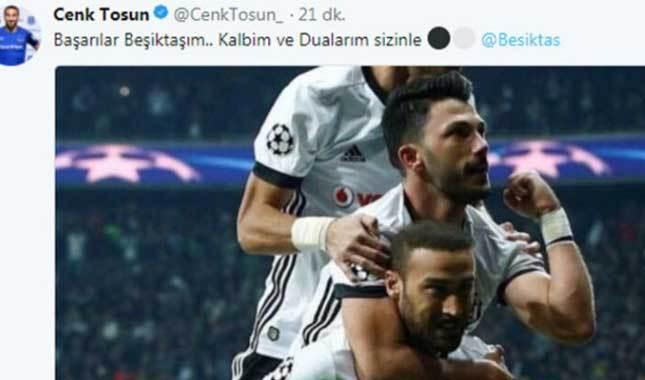 UEFA'dan Beşiktaş paylaşımı