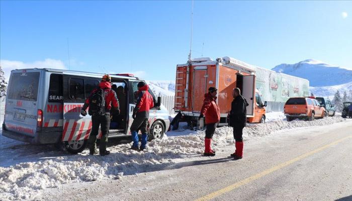 Uludağ'da arama çalışmaları 13. güne girildi