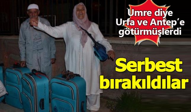 """""""Umreye Götüreceğiz"""" diyerek Urfa ve Antep'i gezdiren 4 kişi serbest bırakıldı"""