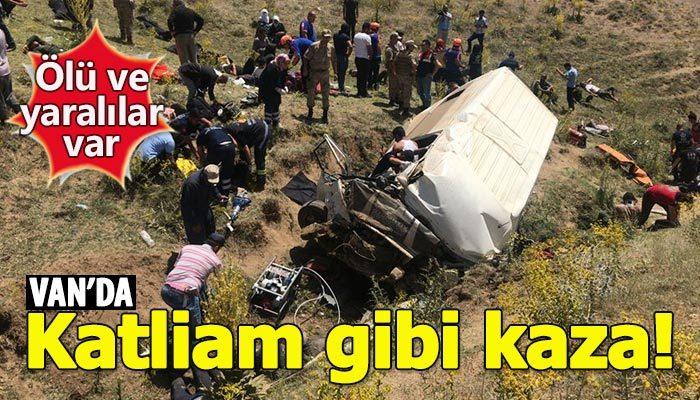 Van'da feci kaza: 15 ölü, 27 yaralı