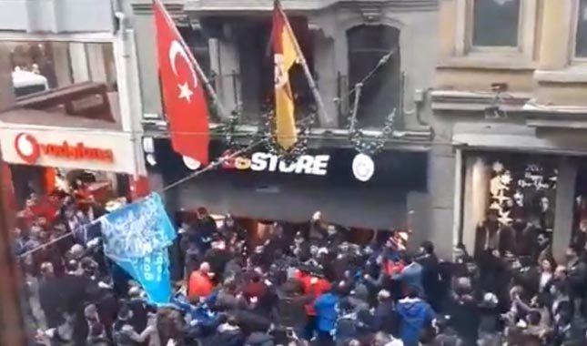 Vandal Trabzonspor taraftarından çirkin saldırı