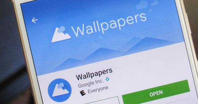 Wallpapers uygulaması Google Play'e düştü!