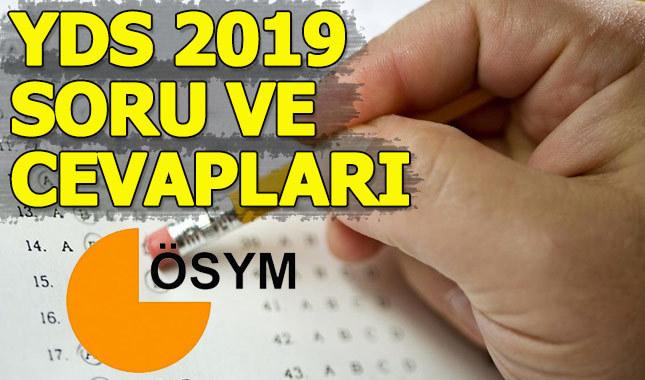 YDS 2019 sonuçları ne zaman açıklanacak - ÖSYM Yabancı Dil Sınavı sınav soruları ve cevap anahtarı