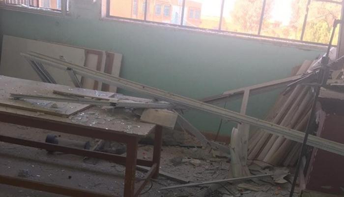 YPG/PKK'den okula terör saldırısı