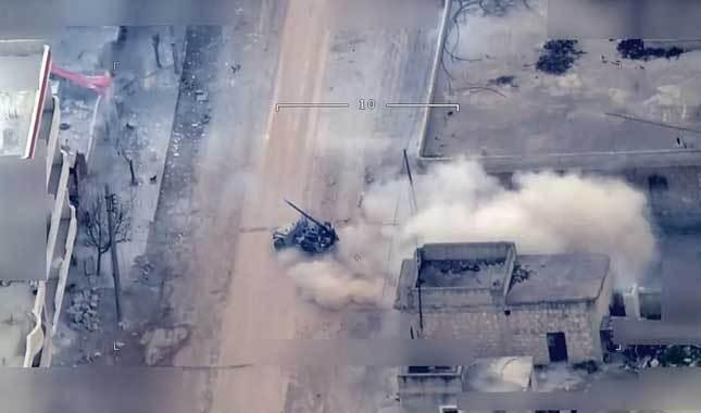 YPG'li teröristler sivillerin arasından Türkiye'ye saldırdı
