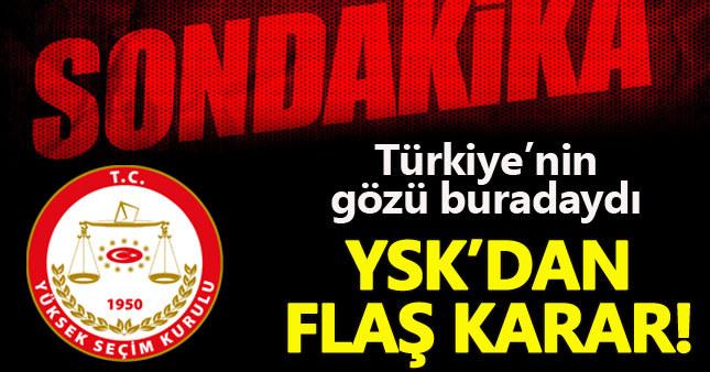 YSK referandumun iptal talebini reddetti