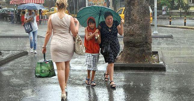 Yarın yine yağmur var!