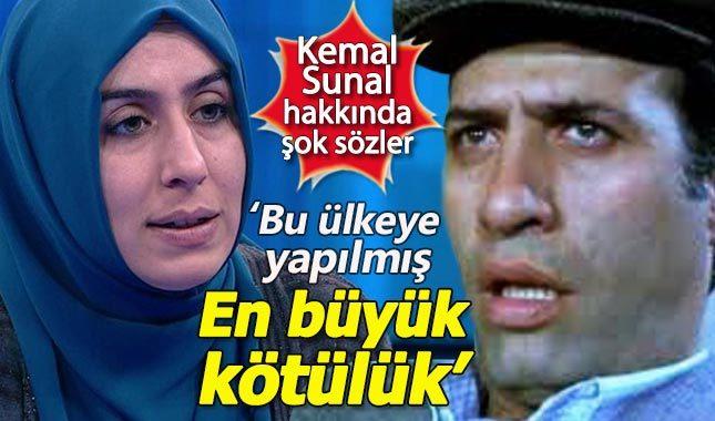 Yazar Cemile Bayraktar'dan Kemal Sunal hakkında şok sözler