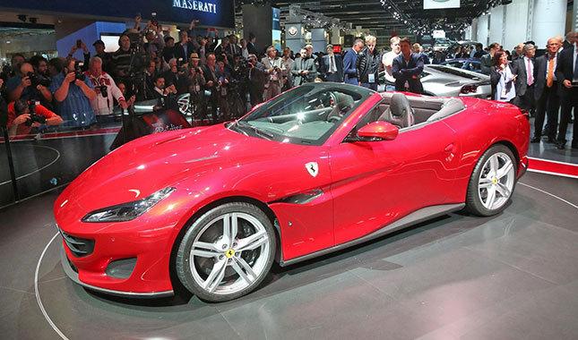 Yeni Ferrari Portofino'ya Türkiye'den 4 talip