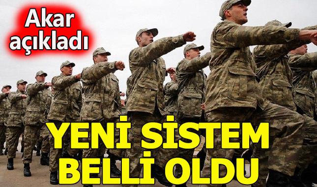 Yeni askerlik sistemi Cumhurbaşkanına sunuldu