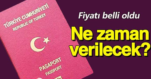 Yeni pasaportlar geliyor