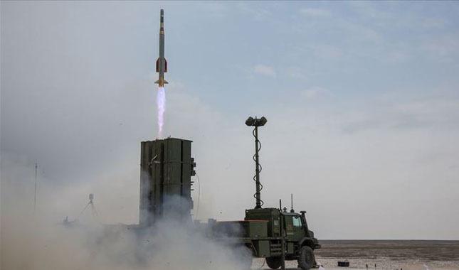 Yerli hava savunma sisteminde yeni başarı