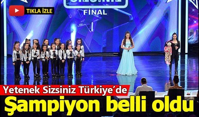 Yetenek Sizsiniz Türkiye'de şampiyon kim oldu - 8 Temmuz 2018 tv8 final