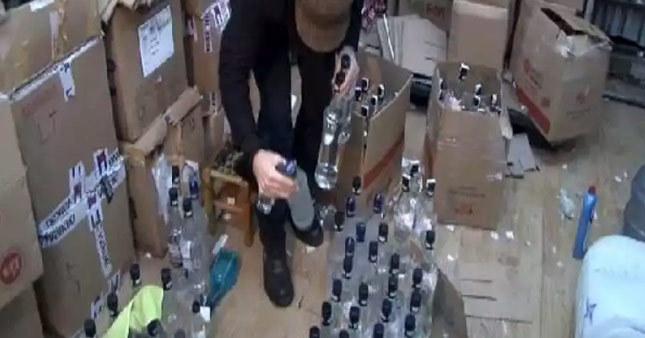 Yılbaşı öncesi kaçak içki operasyonu
