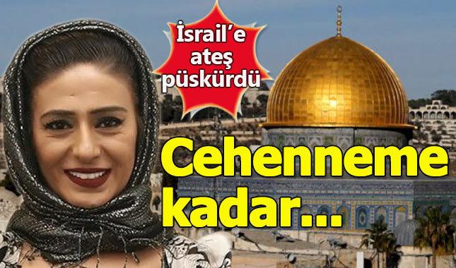 """Yıldız Tilbe'den Kudüs tepkisi: """"Yolları cehenneme kadar açık"""""""