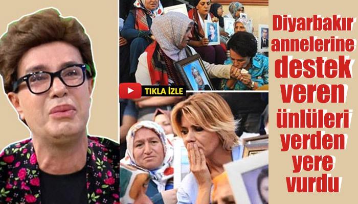 Yılmaz Morgül, Diyarbakır annelerini destekleyen ünlüleri eleştirdi