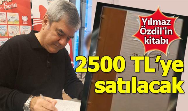 """Yılmaz Özdil'in """"Mustafa Kemal"""" kitabı 2500 TL satılacak"""