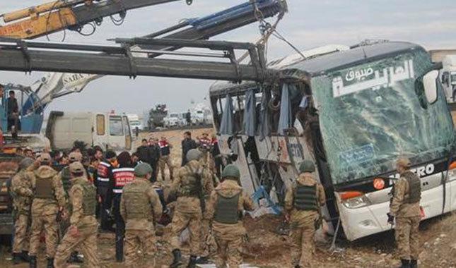 Yolcu otobüsü Silopi yakınlarında kaza yaptı