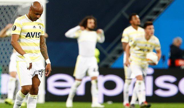 Zenit'e kaybeden Fenerbahçe Avrupa'dan elendi