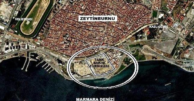 Zeytinburnu'ndaki TOKİ projesi iptal edildi