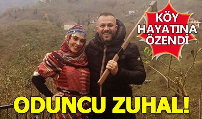 Zuhal Topal, Trabzon'da köy hayatına özendi