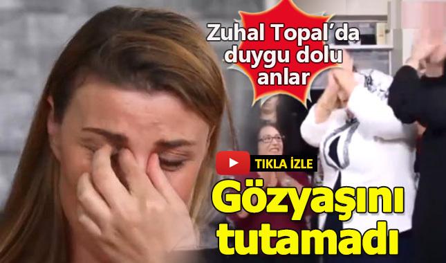 Zuhal Topal'la Sofrada programında duygu dolu anlar! Demet gözyaşlarına boğuldu