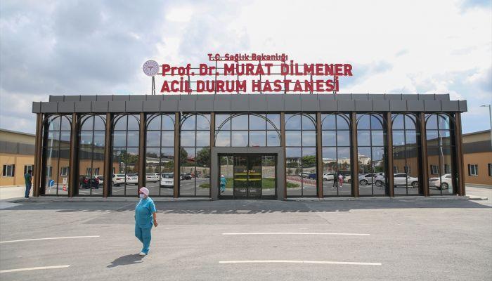 GRAFİKLİ - Prof. Dr. Murat Dilmener Acil Durum Hastanesi Kovid-19 yükünü omuzluyor
