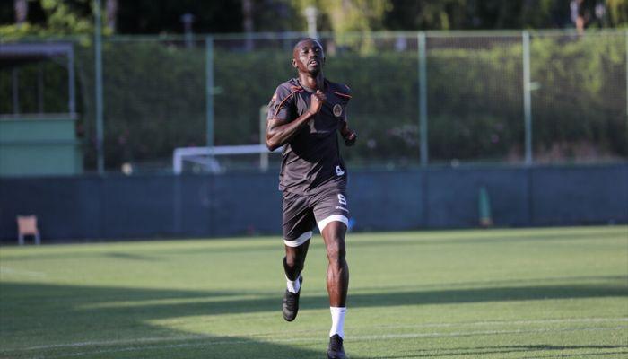 Alanyaspor'un en skoreri Cisse takımının son 3 maçında 6 gol kaydetti
