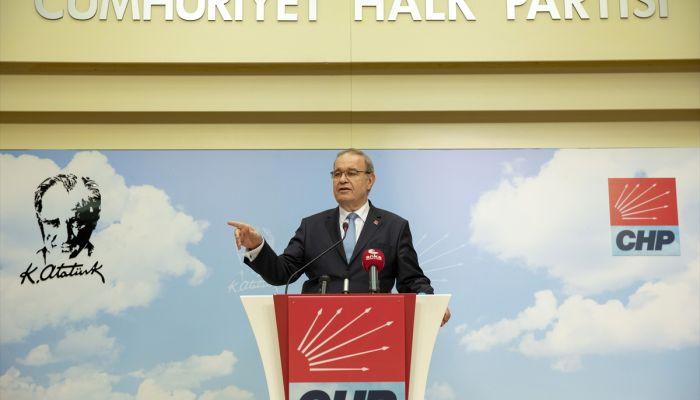 CHP Sözcüsü Öztrak, MYK toplantısının ardından açıklama yaptı: