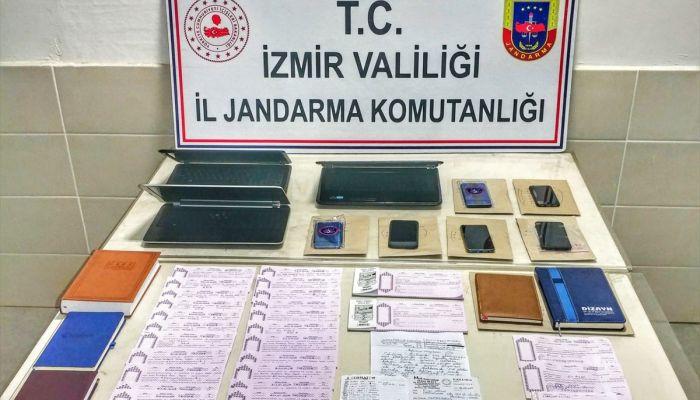 İzmir'de tefecilik operasyonunda yakalanan 6 zanlı tutuklandı