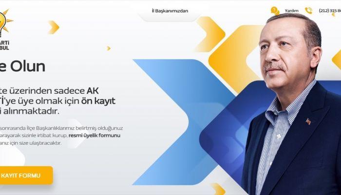 """AK Parti İstanbul İl Başkanlığından """"100 bin yeni üye"""" kampanyası"""