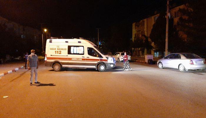 Karabük'te otomobil yayalara çarptı: 2 yaralı