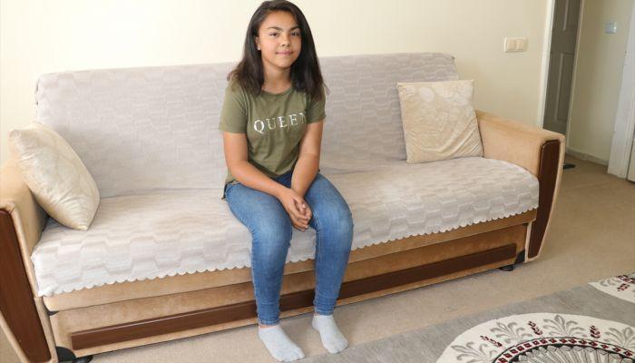 Serebral palsi hastası Senanur, yürümek için yardım bekliyor