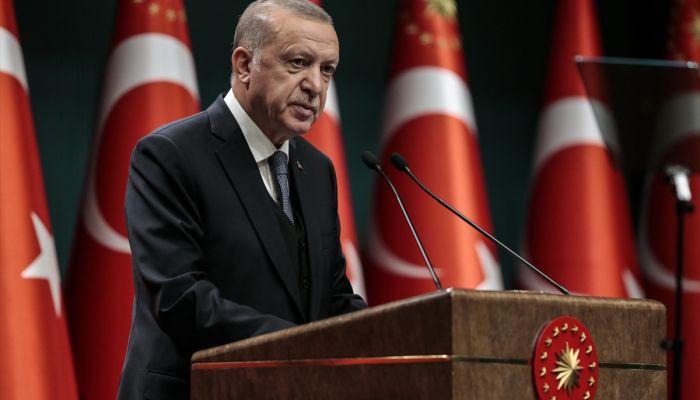"""Cumhurbaşkanı Erdoğan: """"Türkiye'nin yükselişi kimsenin önünde duramayacağı, engelleyemeyeceği, geri döndüremeyeceği bir ivmeye ulaşmıştır."""""""