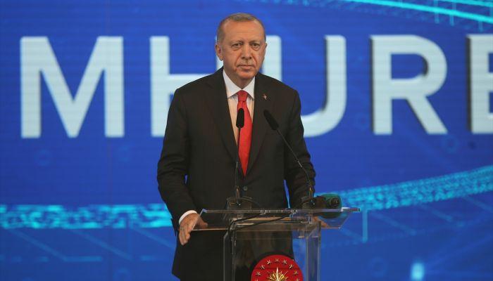 """Erdoğan: """"(Türkiye'nin Otomobili) Milletimizin her ferdi, ülkemizin gücünü ve üretim kapasitesini temsil eden bu projeyi sahiplendi."""""""