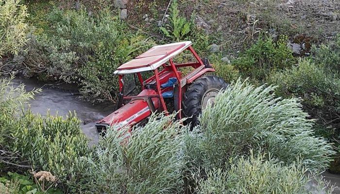 Bingöl'de 2 ayrı traktör kazası: 1 ölü, 1 yaralı