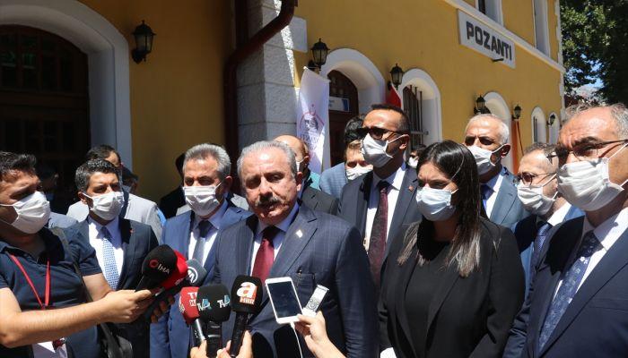 TBMM Başkanı Mustafa Şentop, Pozantı Kongresi'nin 100. yılı töreninde konuştu: (2)