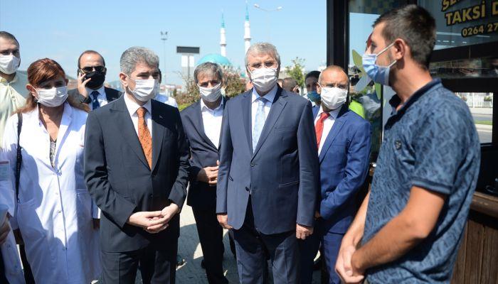 İçişleri Bakan Yardımcısı İnce, Sakarya'da Kovid-19 denetimlerine katıldı: