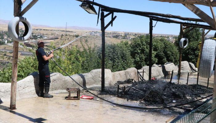 Kayseri'de iş yerini ateşe veren kişi gözaltına alındı