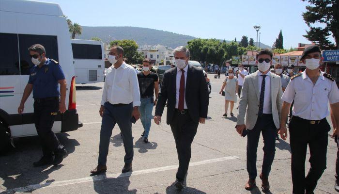 Antalya, Muğla, Burdur ve Isparta'da Kovid-19 tedbirleri denetimi