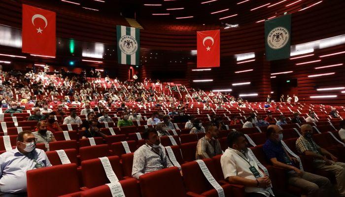Konyaspor'da yeniden başkanlığa seçilen Hilmi Kulluk: