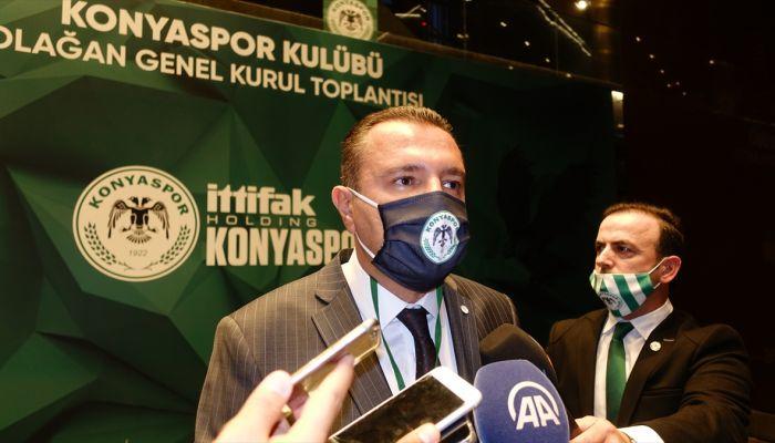 Konyaspor Kulübü Yönetim Kurulu Üyesi Güven Öten'den genel kurul değerlendirmesi: